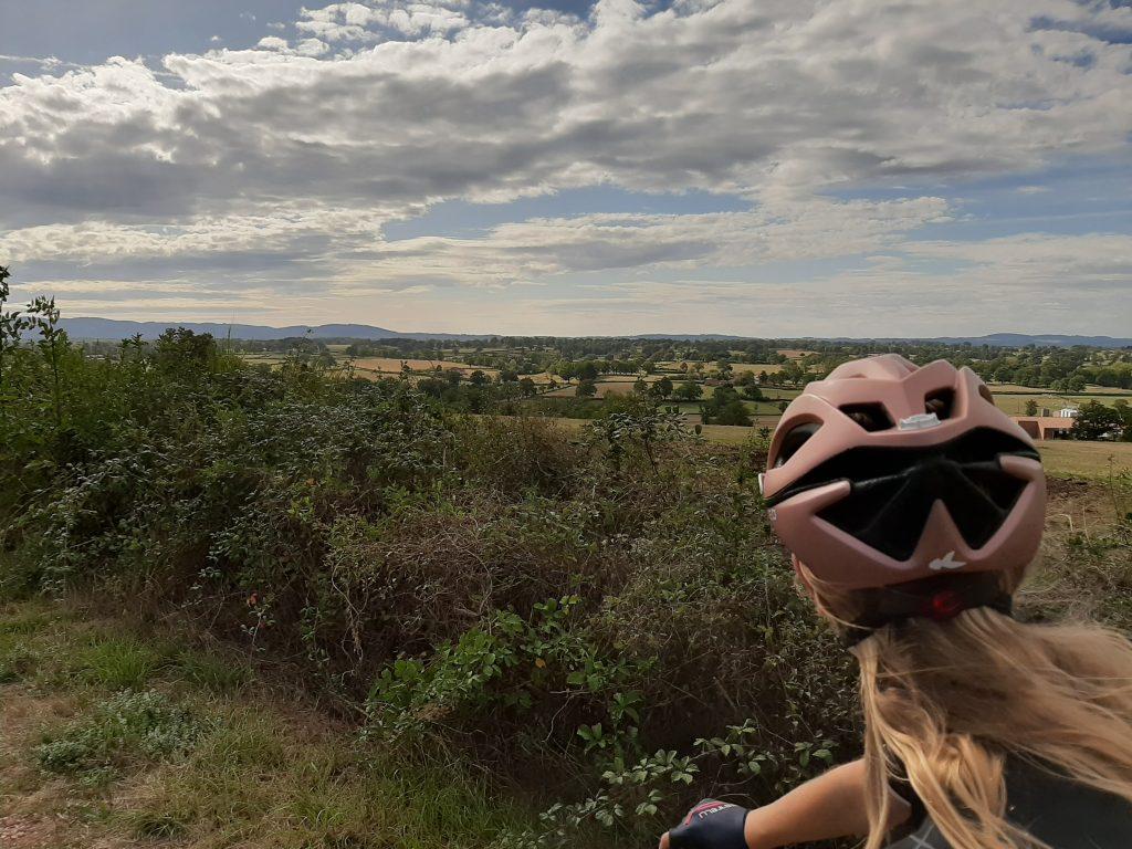 L'Estefana - Belle route à vélo