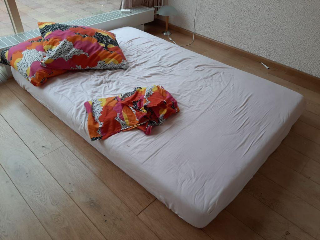 Slapen op matrassen