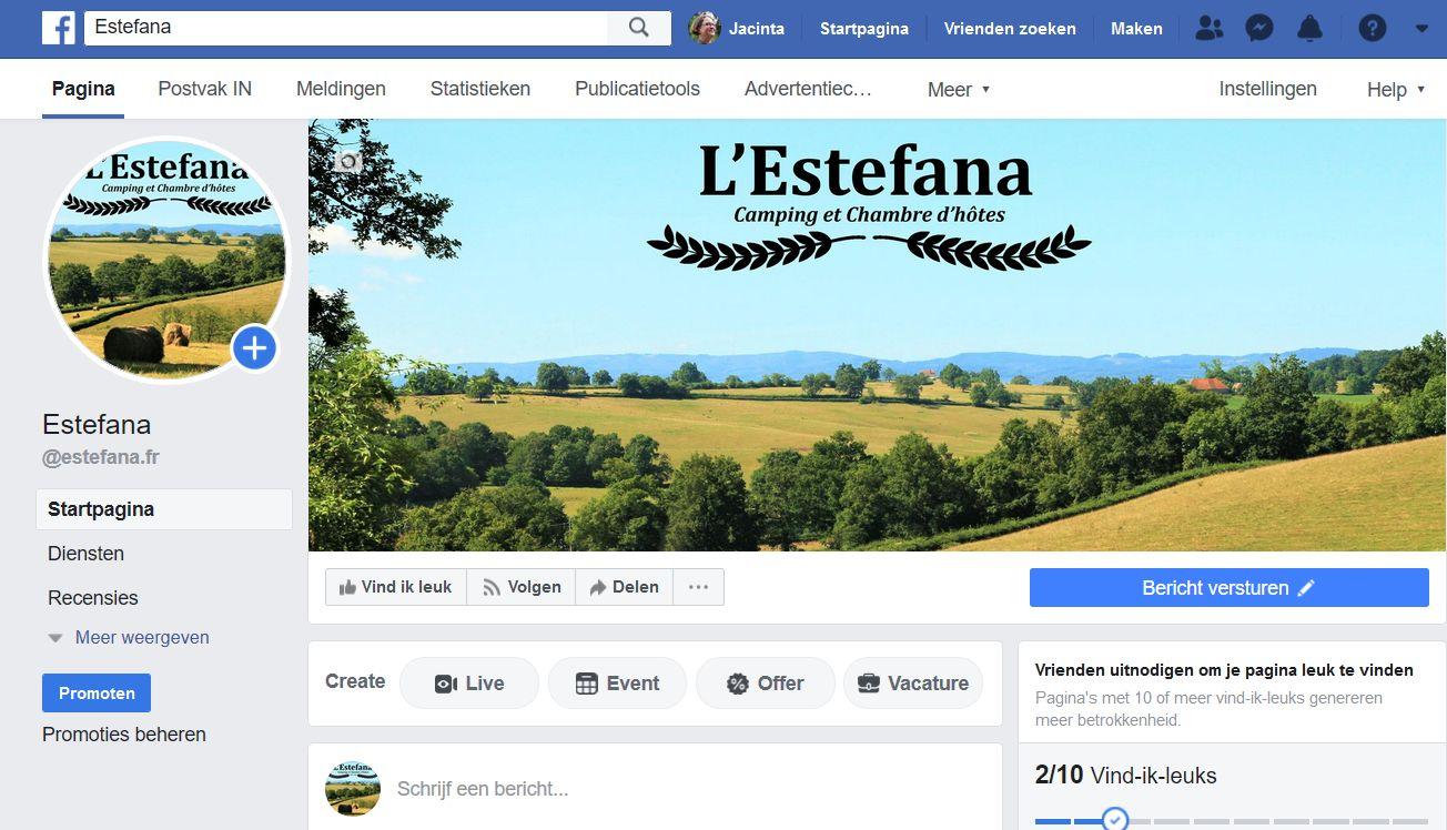 We staan op Facebook!